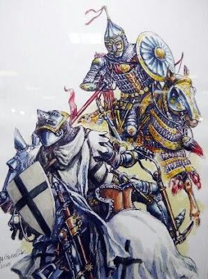 golden horde cavalry vs teutonic knights