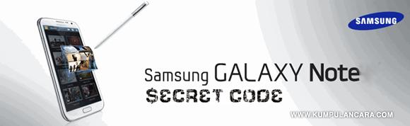 Kode Rahasia Galaxy Note | Secret CODE