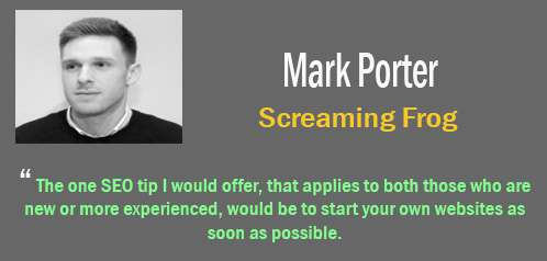 mark porter - tips SEO