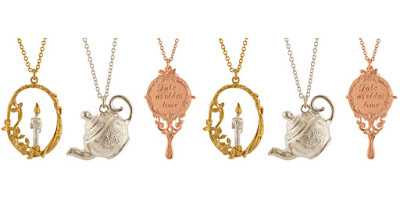 Alex Monroe x Disney Beauty and the Beast Jewellery