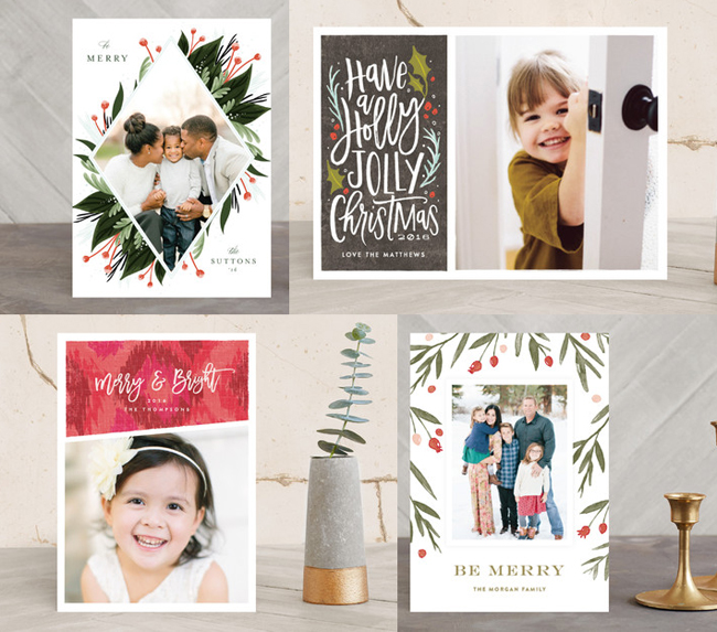 Minted Christmas Cards.The Lady Okie Minted S 2016 Holiday Cards A Giveaway