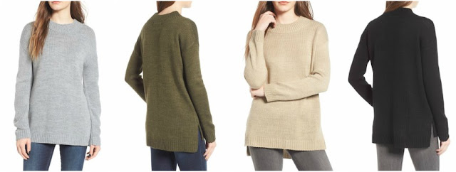 Cotton Emporium Mock Neck Tunic $23 (reg $39)