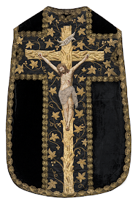 A Good Friday Chasuble from Twentieth Century Lithuania