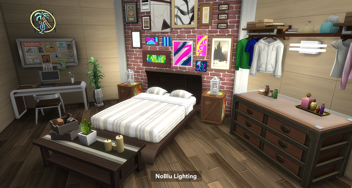 Sims 4 cc's   the best: no blue mod by lumialoversims