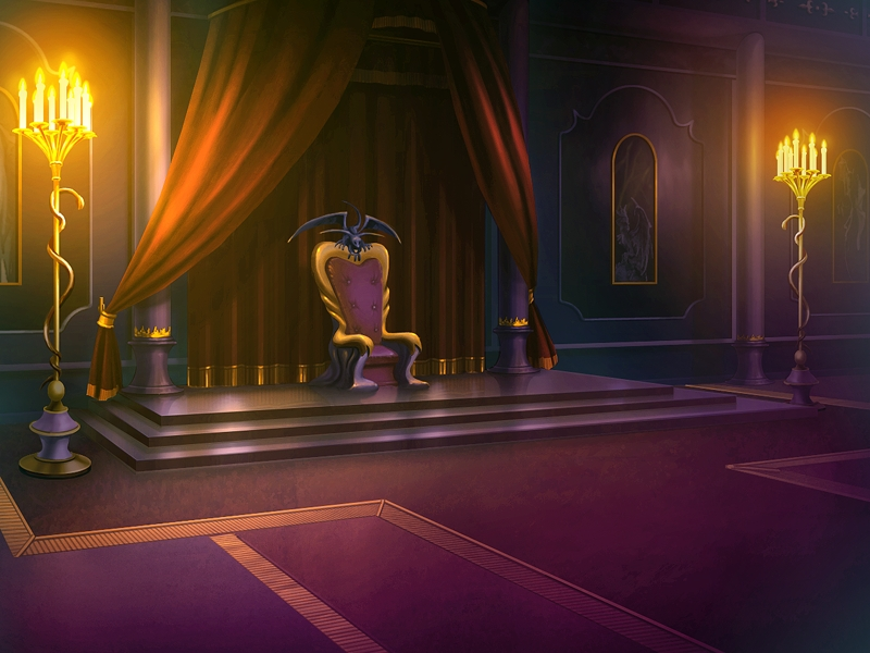 Anime Landscape Throne Room Anime Background