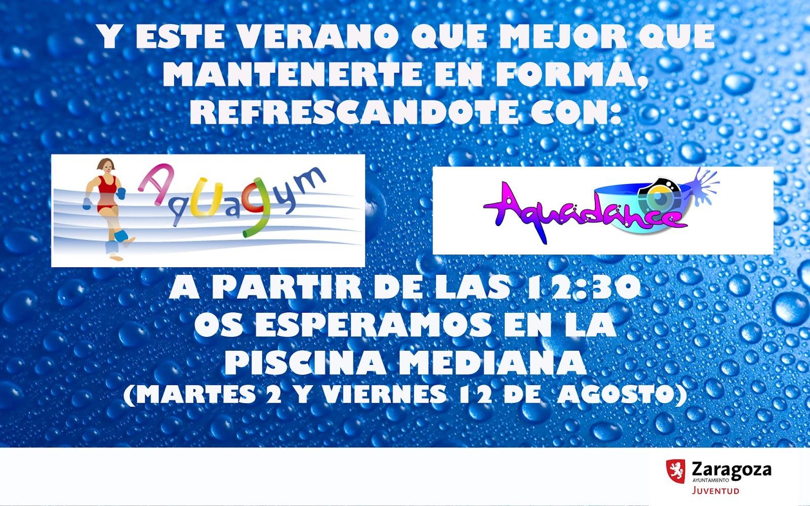 Universidad joven agosto 2016 for Piscina hipica zaragoza
