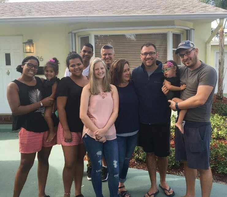 After  Many Years And 24 Different Homes, 33-Year-Old Dale Finally Found A Family Who Adopted Him