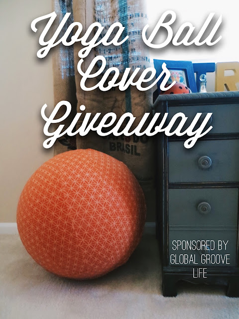 Global Groove Life, yoga ball cover, ethical, fair trade, giveaway, freebie friday