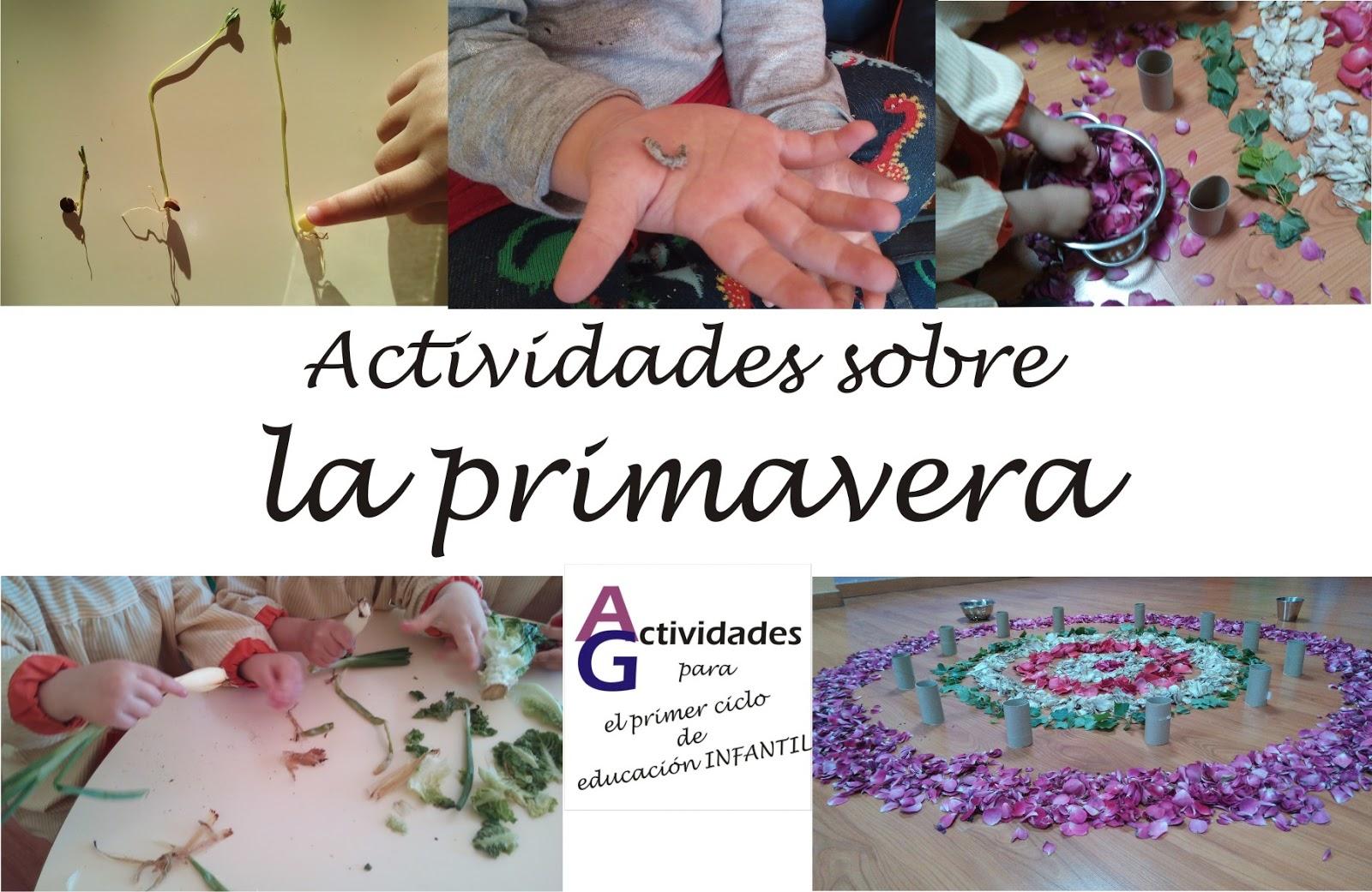 Actividades para el primer ciclo de Educación Infantil: Actividades ...