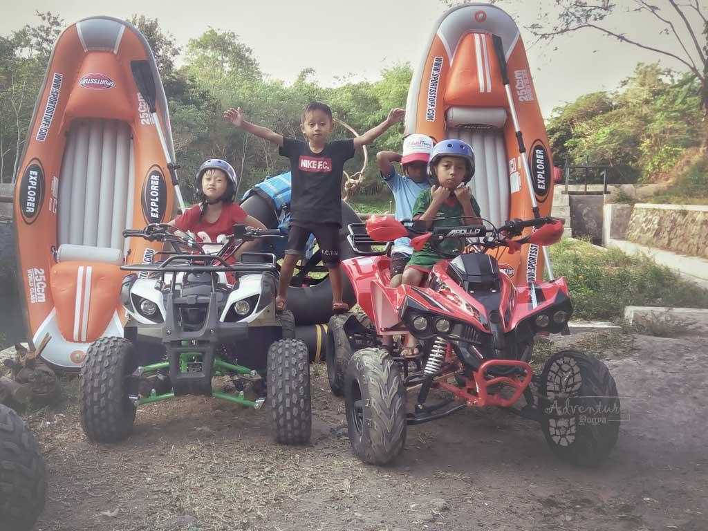 ATV dan Cano di Kampung Wisata Remboko