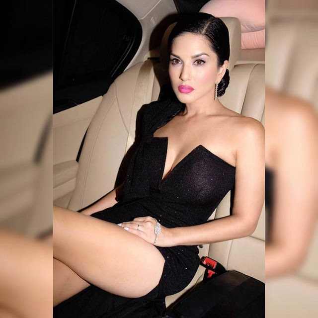 Sunny Leone is making it hotter than ever with her sizzling side