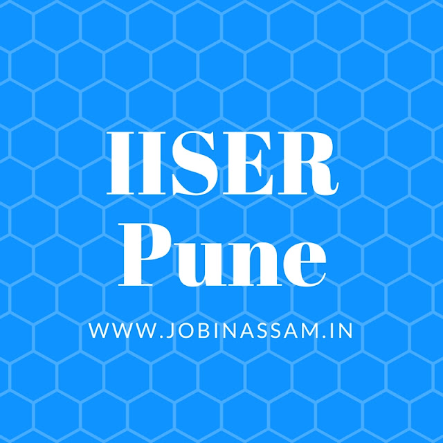 IISER Pune, Research Associate Vacancy