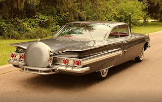 1960 Chevrolet Impala Sports Coupe Rear