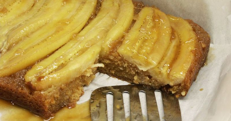 Upside Down Banana Cake Donna Hay