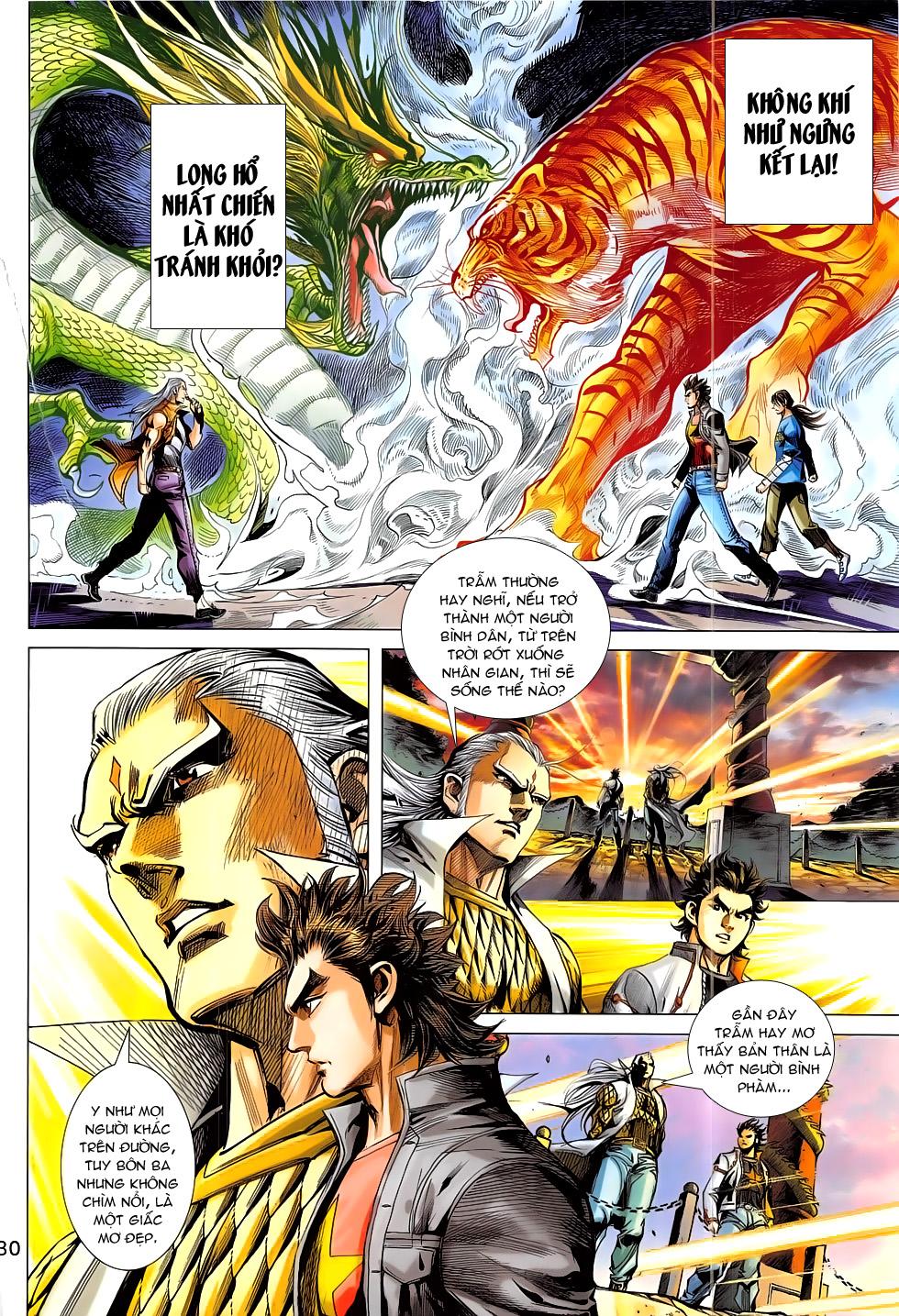 Đông Phương Chân Long chap 66 - Trang 30