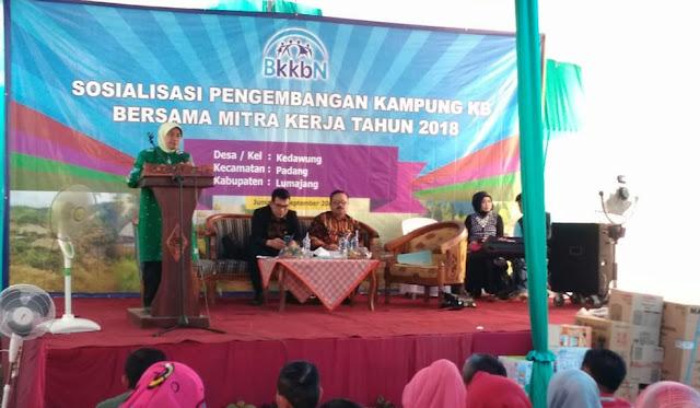 Sosialisasi Pengembangan Kampung KB