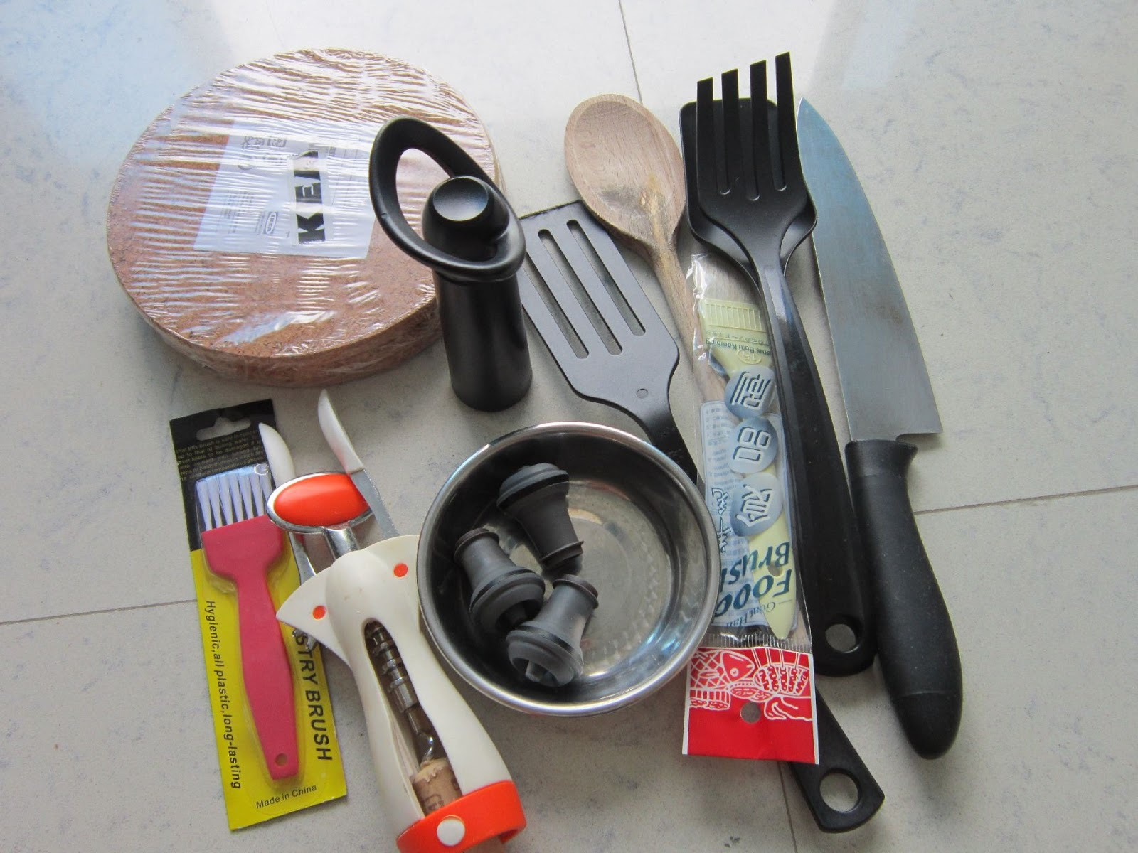 Pieces For The Home Free Kitchen Utensils Food Items