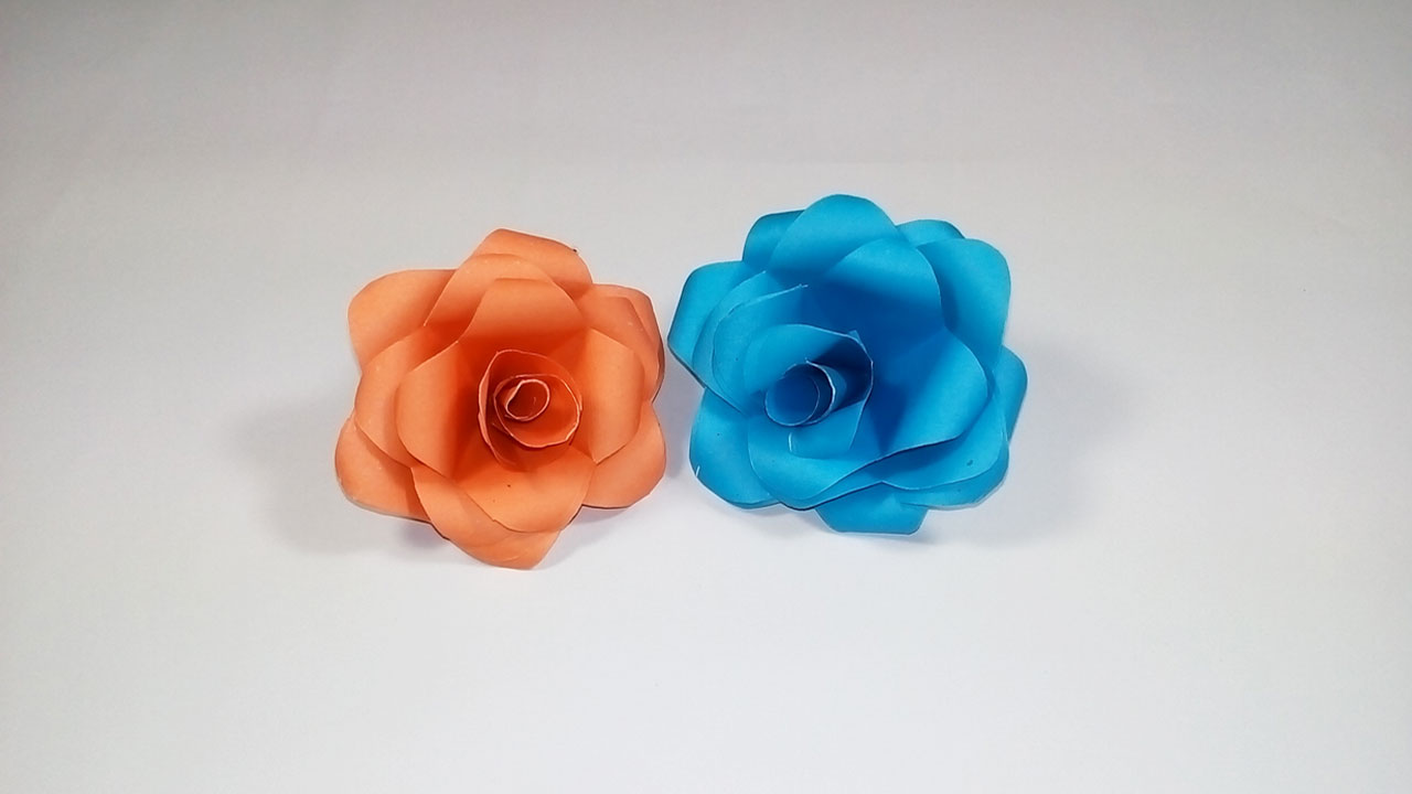 Easy Paper Origami How To Make Paper Rose Very Easy And Simple To