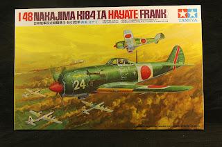 maquette du chasseur Ki 84 Hayate.
