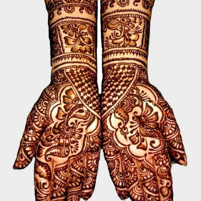 Karva Chauth Mehndi For Back Hands