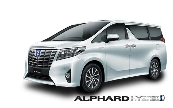 Color Toyota Alphard Hybrid Surabaya