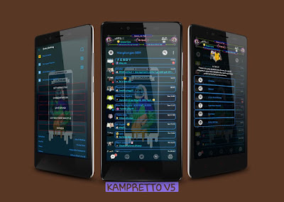BBM Kampretto v5.1 Base BBM MOD 3.3.6.51 APK Terbaru Juli 2017
