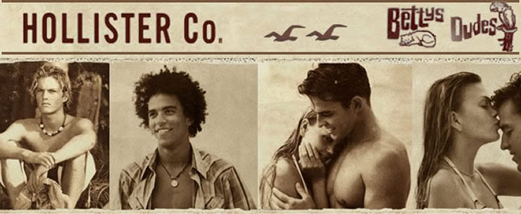 Hollister Clothing Advertisements