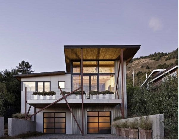 Modern eco house designs for more natural home design for Eco house design