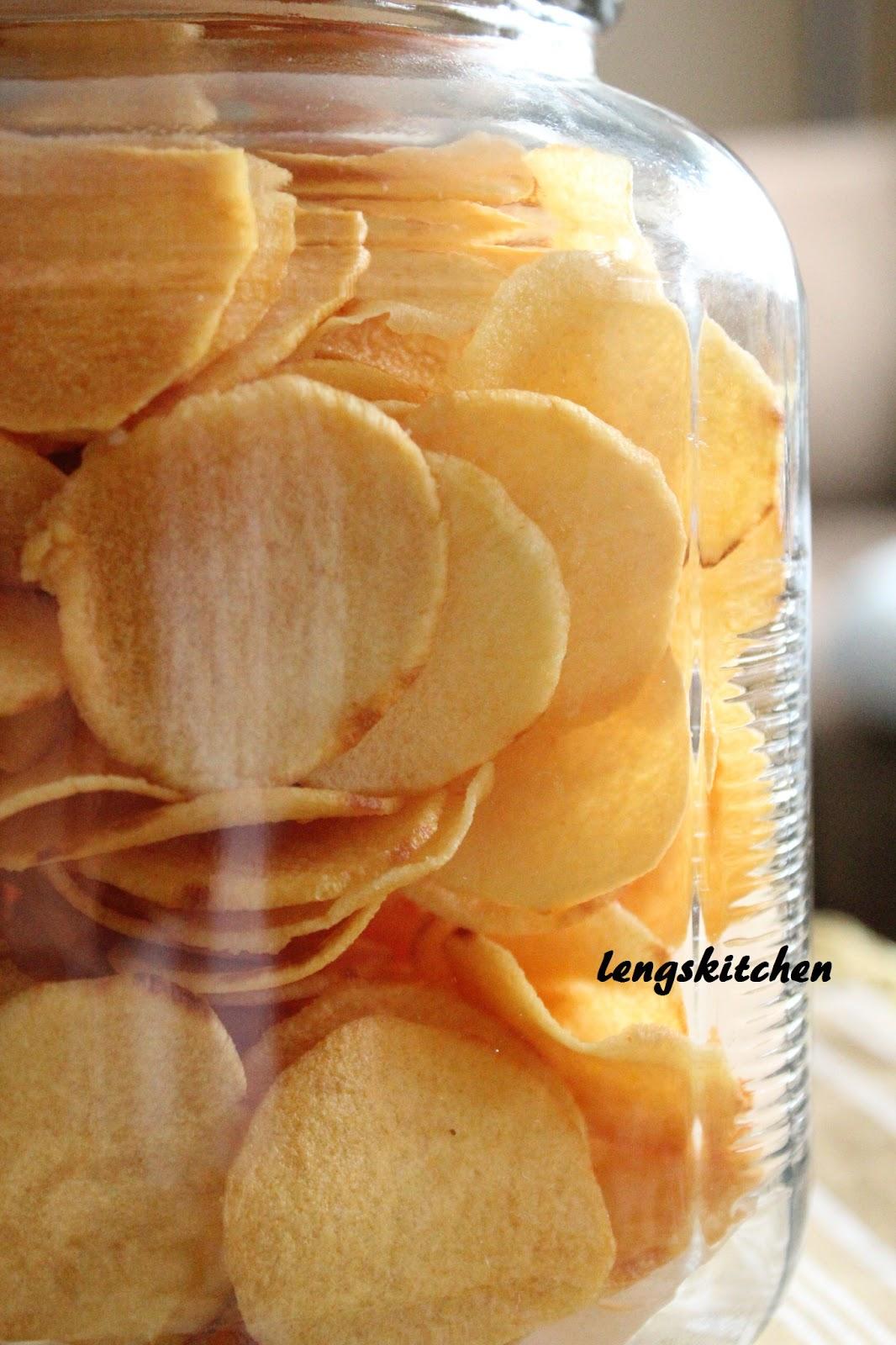 Single Sink Kitchen Cabinets Storage Ideas Chaos: Ngaku (arrowhead) Chips 炸芽菇饼 - Chinese New ...