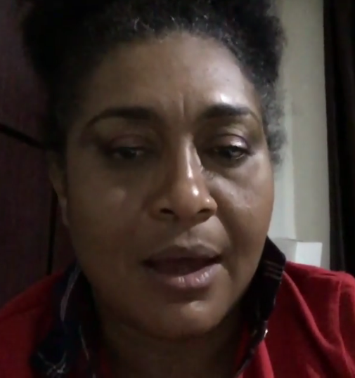 Enraged nollywood actress, Hilda Dokubo, discovers the 'Other room' says she doesn't belong there