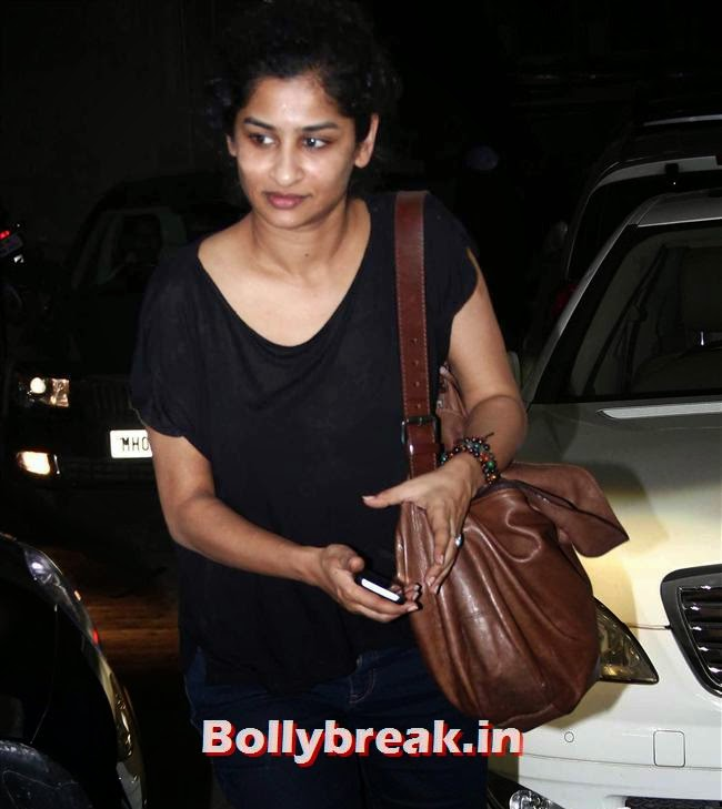 Gauri Shinde, Amitabh Bachchan at Bhoothnath Returns Special Screening