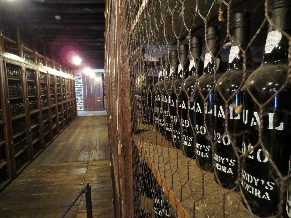 Madeira wines vintages