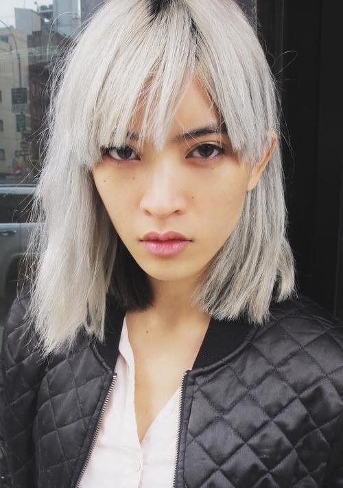 Exceptionnel unefilledelaville: Cheveux, osez le gris AJ64