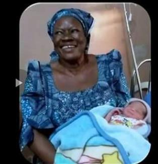 Photo: 58-year- old woman gives birth in Kogi