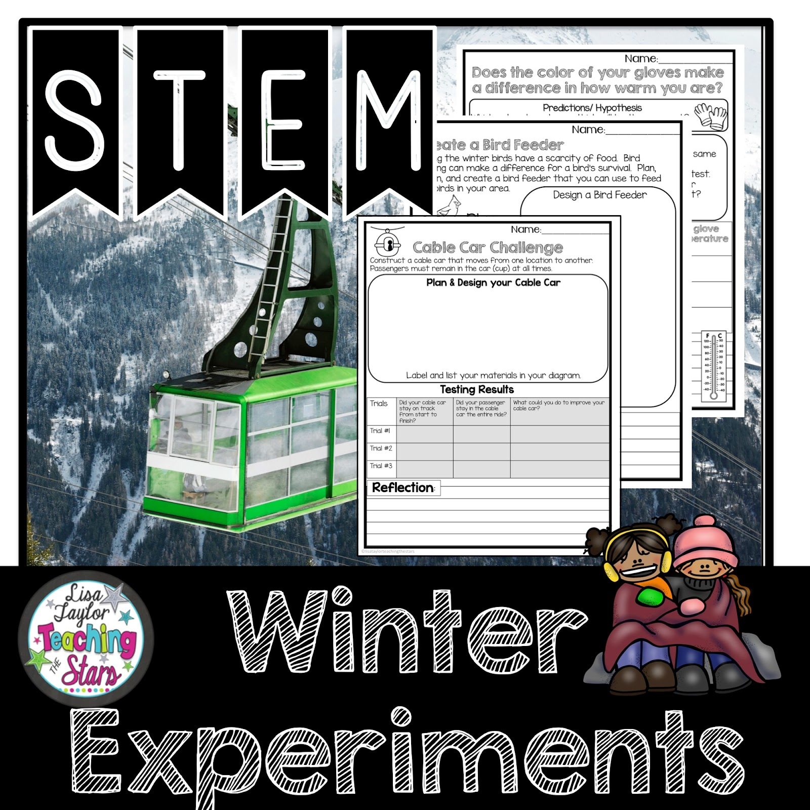 Teaching The Stars Fun Amp Engaging Stem Winter Activities