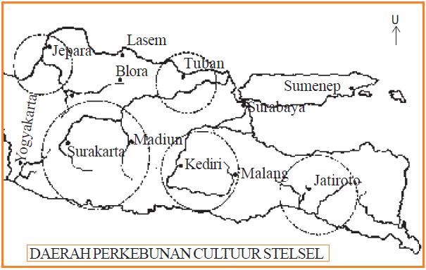 Peta Perkebunan Tanam Paksa