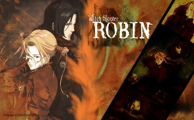 Top Anime Like Tokyo Ghoul - Witch Hunter Robin