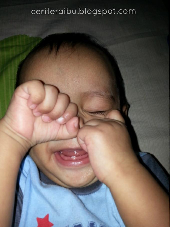 Perkembangan Fattah Anas  9 ~ 10 bulan