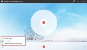 Apowersoft Free Audio Recorder 3.0.7 تسجيل الصوت من النظام وميكروفون