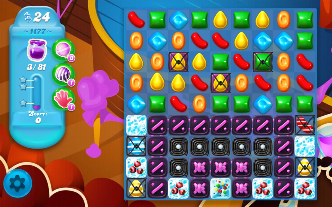 Candy Crush Soda Saga level 1177