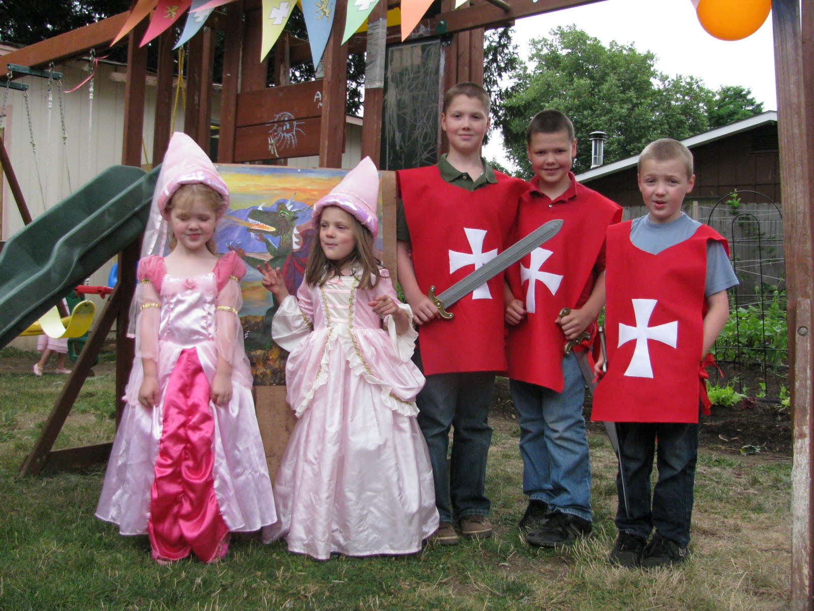 Proverbs 31 Woman: A Knight & Princess Party