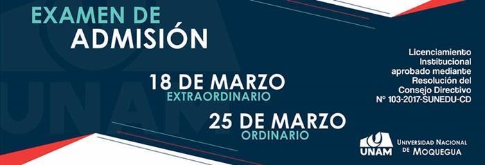 Resultados Examen de Admisión Extraordinario UNAM 2018 - 1 (18 Marzo 2018)