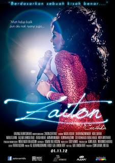 Malay Movie Zaiton Ceritaku 2012 lakonan Nadia Aqilah
