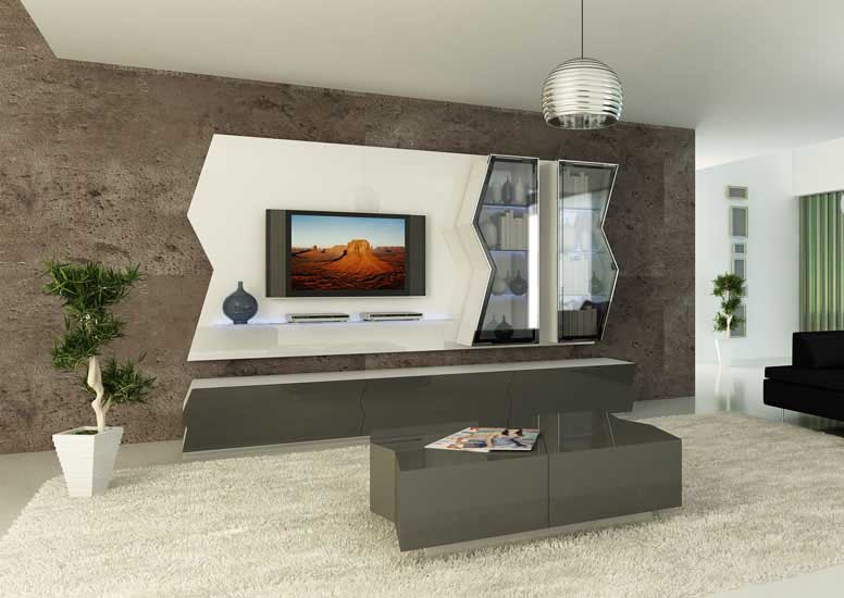 Top 40 modern TV cabinets designs - Living room TV wall ...