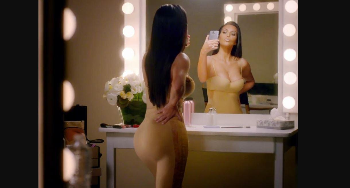 Kim Kardashian comerial Super Bowl