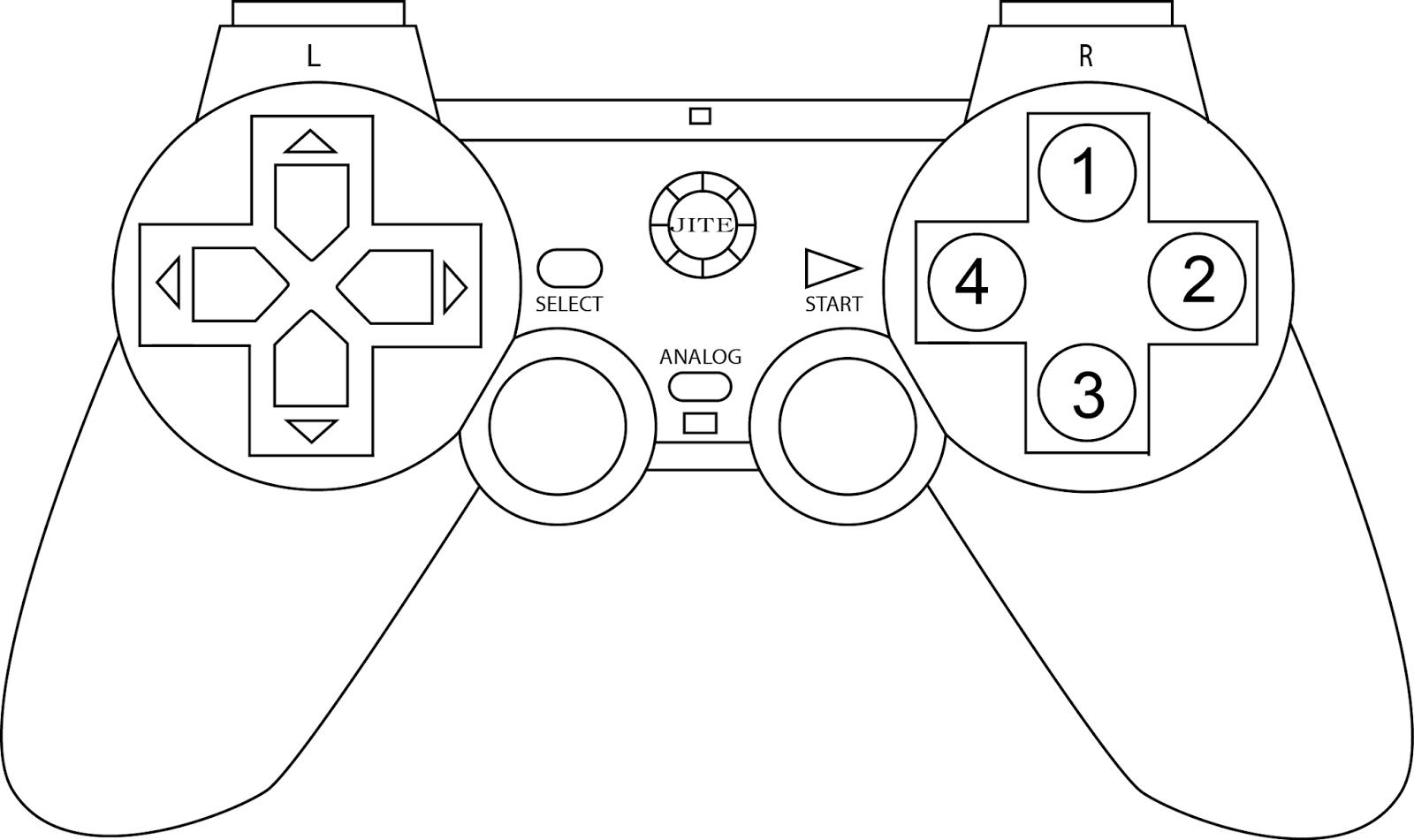 Art 101 2d Digital Design Controller Drawings