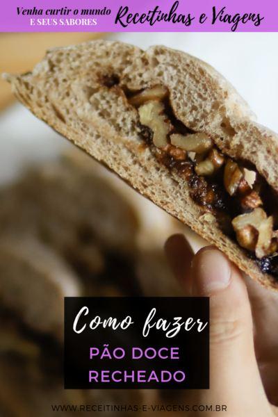 Como fazer pão doce recheado