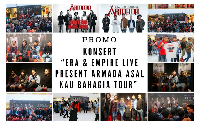 "Konsert ""Era & Empire Live Present Armada Asal Kau Bahagia Tour"""