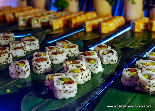 sushi at Address Marina Dubai Iftar