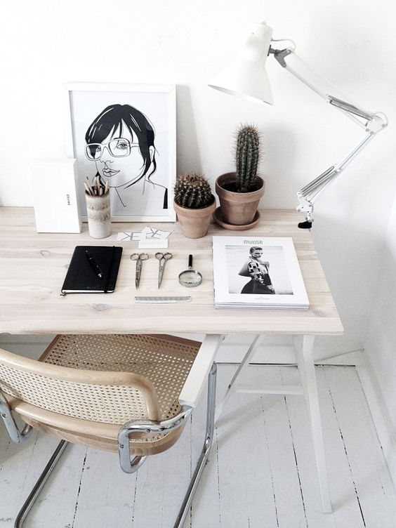 PUNTXET Inspiración para decorar estudios y oficinas #deco #decoracion #decoration #estudios #oficinas #study #office